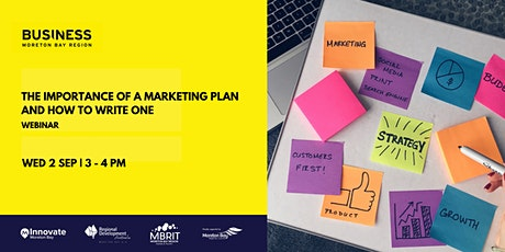 The importance of having a marketing plan and how to write one [webinar] tickets