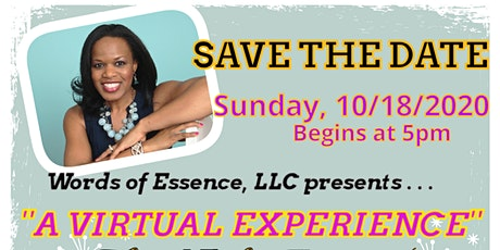 "Words of Essence's  ""15th Annual Gospel Showcase  Event 2020"" (VIRTUAL) tickets"