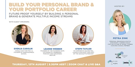 Build your Personal Brand and portfolio career tickets