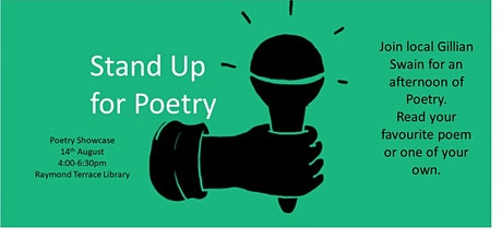 Stand Up for Poetry - Open Mic Showcase tickets