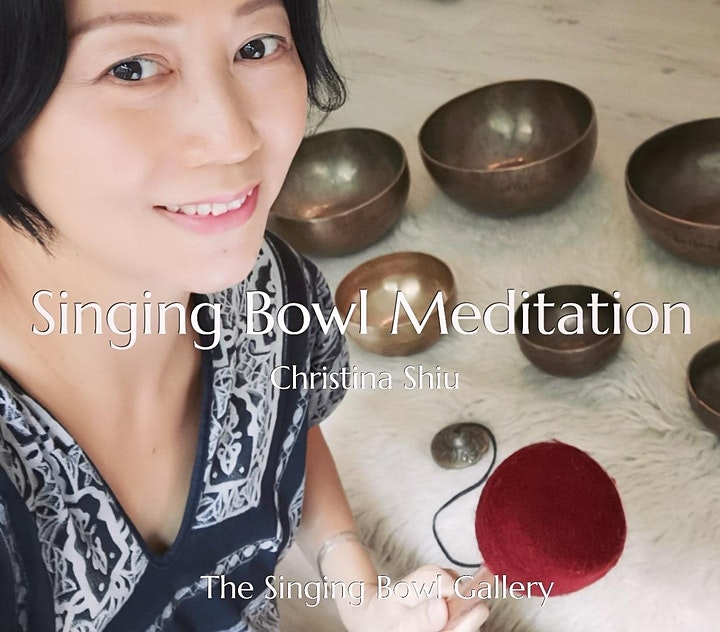 Sound Bath Singing Bowl Meditation by Christina image