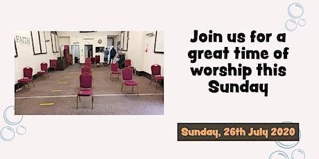 CoHG Sunday Service 26072020 tickets