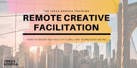 Remote Creative Facilitation Masterclass tickets