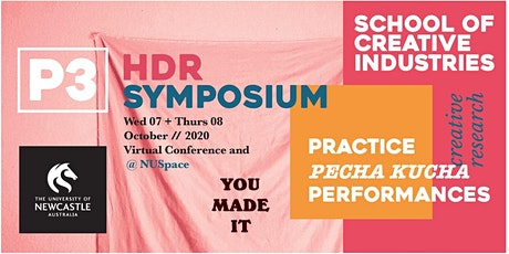 School of Creative Industries P3 HDR Symposium tickets