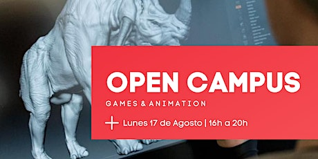 OPEN CAMPUS | Games & Animation entradas