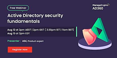 Active Directory security fundamentals tickets