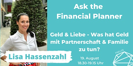 Ask the Financial Planner -  Geld & Liebe Tickets