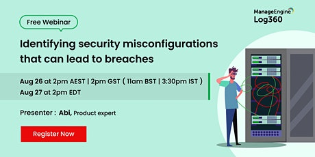 Identifying security misconfigurations that can lead to breaches tickets