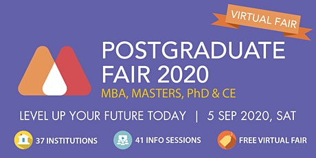 HeadHunt Postgraduate Virtual Fair 2020 - 5 Sep tickets