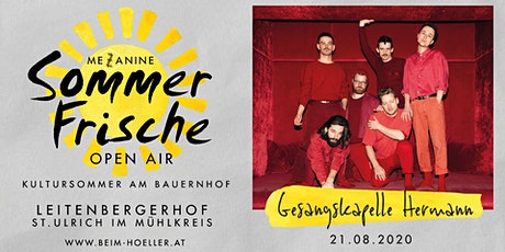 Gesangskapelle Hermann | Mezzanine Sommerfrische Open Air Tickets