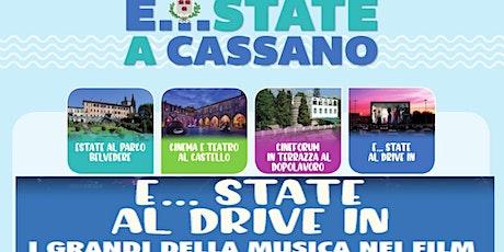 """E...state a Cassano: DRIVE IN """"ROCKETMAN"""" biglietti"""
