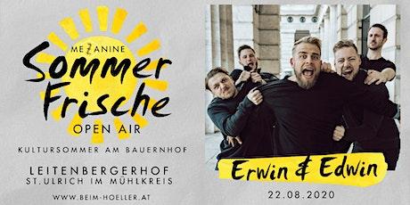 Erwin & Edwin | Mezzanine Sommerfrische Open Air Tickets
