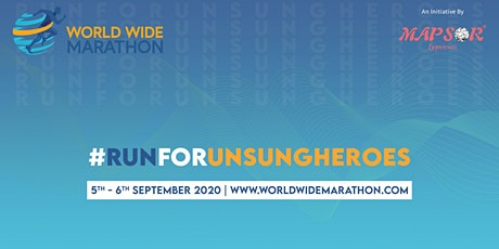 World Wide Marathon - #WWMRUNFORUNSUNGHEROS tickets
