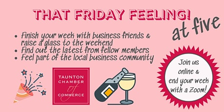That Friday Feeling! Finish your week with biz friends & toast the weekend! tickets