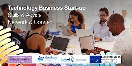 WEBINAR  FOR START-UPS -  Grants for tech start-ups in Coventry  & Warks tickets