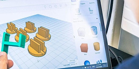 Iterative Design Using Tinkercad [PIXEL Labs@NLB] | MakeIT Tickets