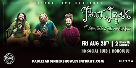 RiseUp Live Presents: Paul Izak Dinner Show tickets