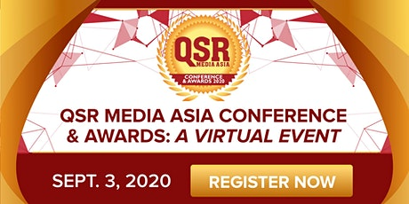 QSR Media Asia Conference & Awards: A Virtual Event tickets