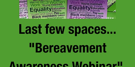 "Training webinar with CRUSE  ""Bereavement  Awareness"" tickets"