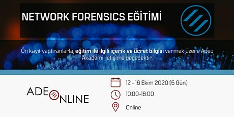 NETWORK FORENSICS - EĞİTİM tickets