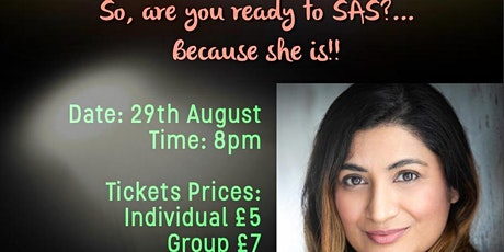Harveen Mann - Are you ready to SAS? Online concert (Group Ticket) tickets