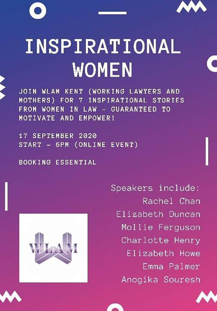 Inspirational Women - hosted by WLAM Kent image