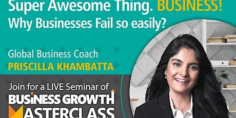 Business Growth Matsterclass tickets