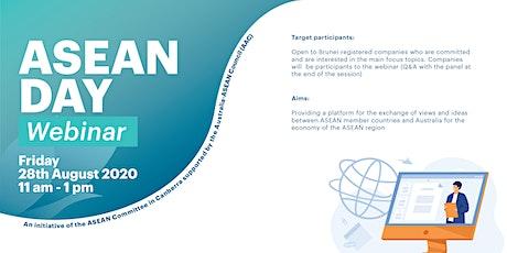 ASEAN Day Webinar 2020 tickets