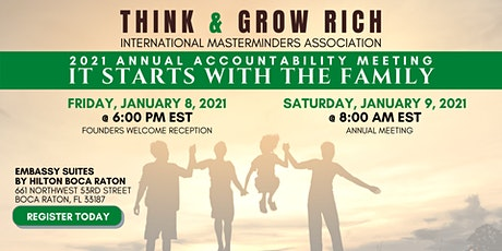 Think and Grow Rich Annual Accountability Meeting 2021 tickets