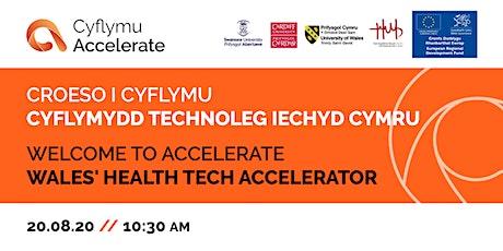 Cyflymu Arloesi / Accelerating Innovation tickets
