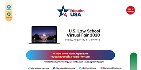 U.S. Law School Virtual Fair 2020 tickets