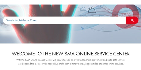 Tutorial for Installers – SMA Online Service Center - Option 1 Tickets