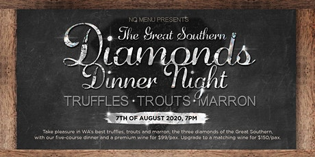 The Great Southern Diamond Dinner Night tickets