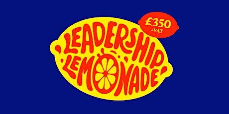 Leadership Lemonade - The September 2020 Edition tickets