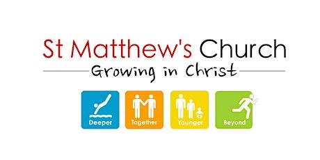 Outdoor Service 4pm | St Matthew's Church | 16.08.2020 tickets