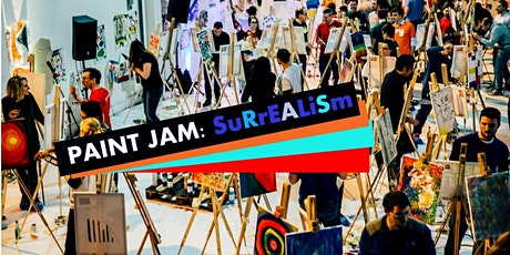 PAINT JAM SALON: SURREALISM - 'real' & live stream paint party tickets