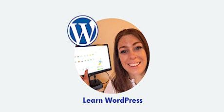 WordPress in 1 Day - Learn Online tickets