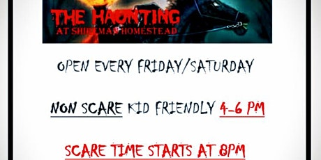 The Haunting at the Shireman Homestead tickets