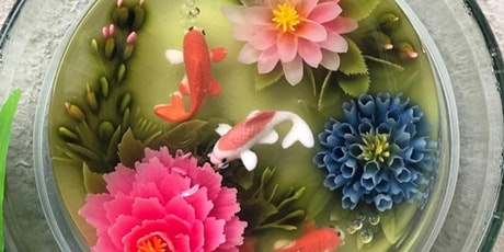3D Jelly Art Floral - Koi & Bloom with Natural Colours Workshop tickets