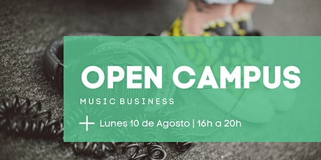 OPEN CAMPUS | Music Business entradas