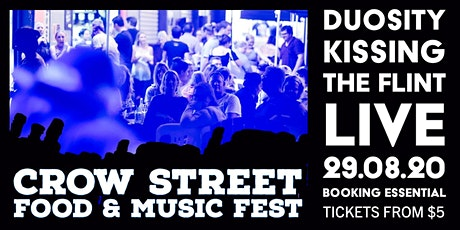 Crow Street Creative Food & Music Fest - WE'RE BACK! tickets