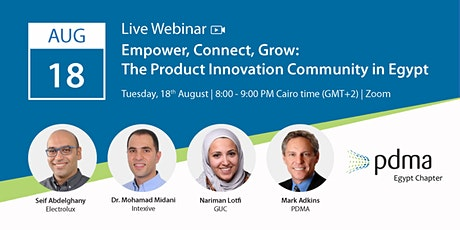 Empower, Connect, Grow: The Product Innovation Community in Egypt tickets