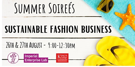 Introduction to Sustainable Fashion Business tickets