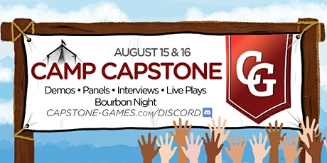 Camp Capstone - General Admission tickets
