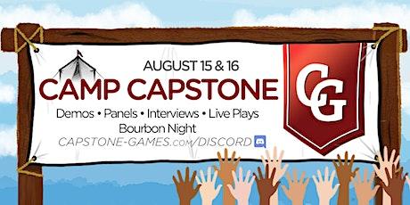 Camp Capstone tickets