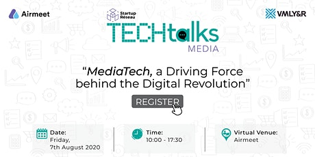 Startup Réseau| TechTalks - Media Tech tickets