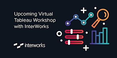 Virtual Tableau Workshop with InterWorks, Sept 2020 tickets