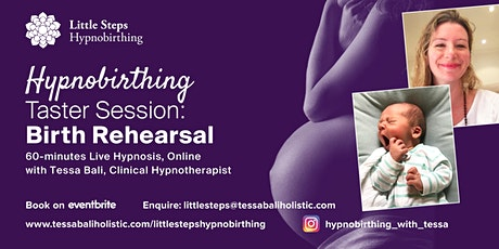 "Hypnobirthing One Hour Session: ""Birth Rehearsal"" tickets"