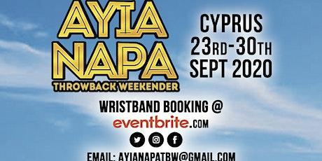 AYIA NAPA THROWBACK WEEKENDER 2020 tickets