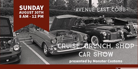 Cruise, Brunch and Shop Car Show presented by Monster Customs tickets